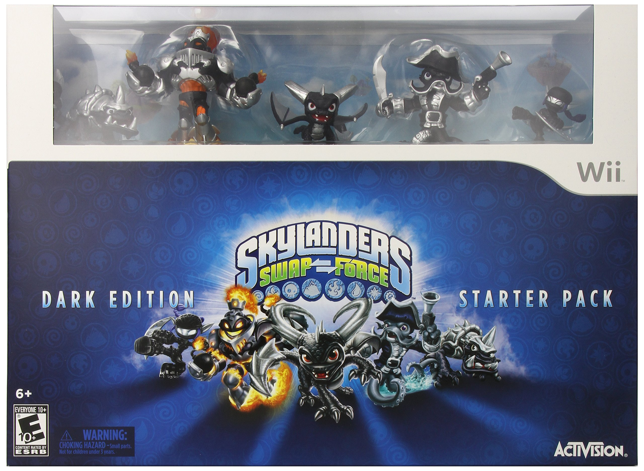 Skylanders SWAP Force Dark Edition Starter Pack - Wii