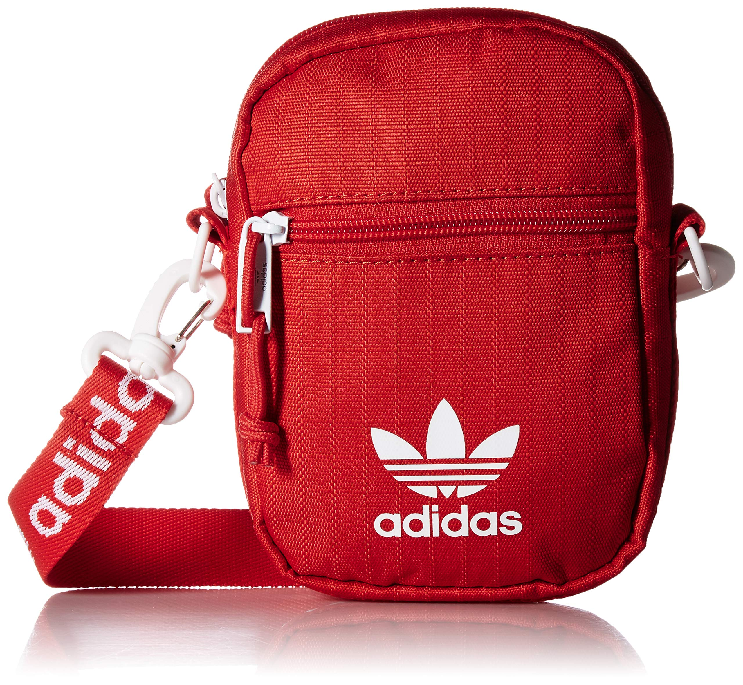 57e829d2d adidas Originals Festival Crossbody Bag, Red, One Size by adidas (Image #1