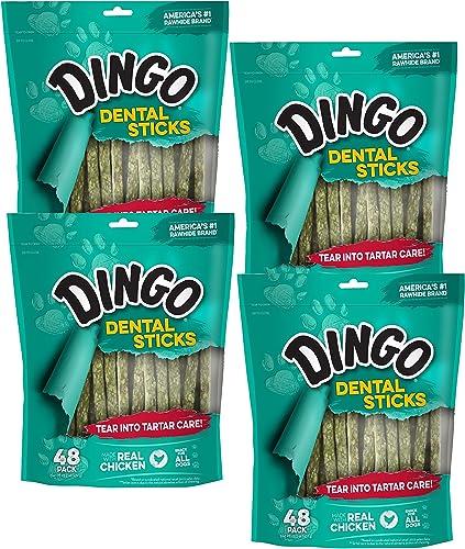 Dingo Dental Sticks for Tartar Control, 192-Count