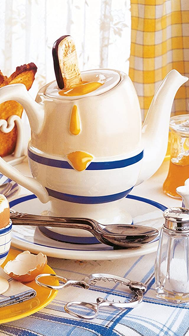 ティーセット Cardew Design tea pot iPhoneSE/5s/5c/5(640×1136)壁紙画像