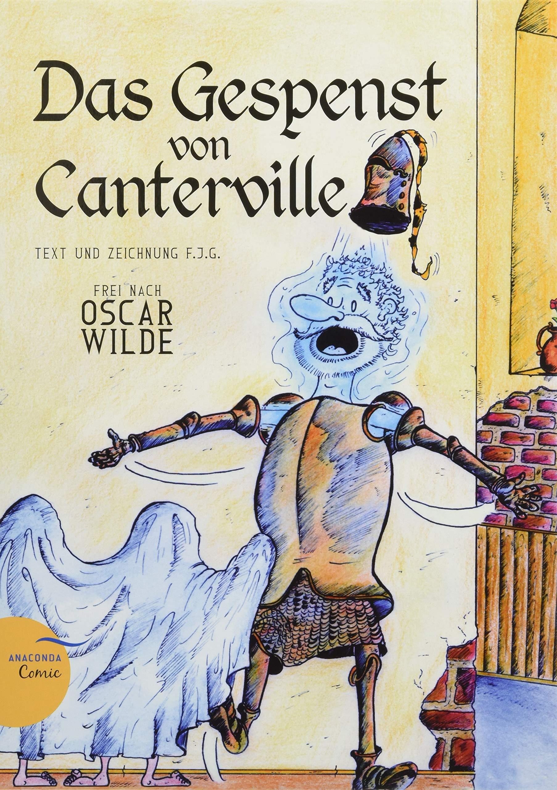 Das Gespenst von Canterville Ein Anaconda-Comic : Comic frei nach ...