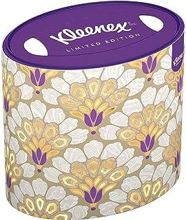 Kleenex Oval 5 packs de 64 pañuelos, 320 pañuelos, modelos/colores aleatorios