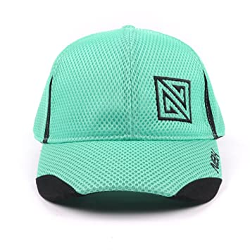 Nonbak gorra cap mesh casual/running tejido transpirable logo bordado Unisex, Verde Emerald: Amazon.es: Deportes y aire libre