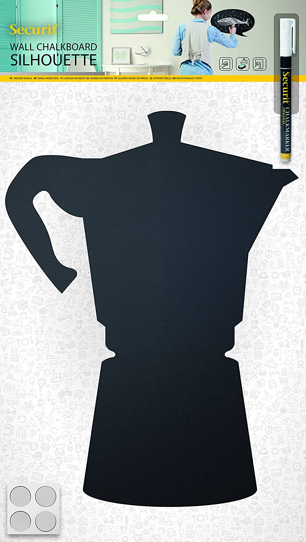 Amazon.com: Securit Silhouette Moka Chalk Board, Black, 53 x ...