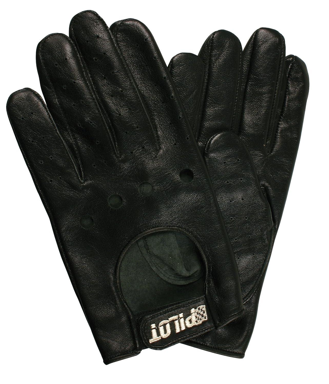 M guanti guida Pilot-3 Nero