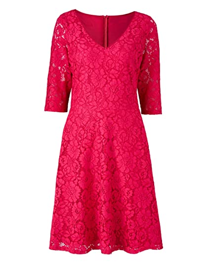 ef04181fcdb53 J D Williams Womens Lorraine Kelly Lace Dress: Amazon.co.uk: Clothing