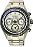 [シチズン] 腕時計 アテッサ エコ・ドライブ 電波時計 ハイグレードペアモデル CC4004-66P メンズ ゴールド