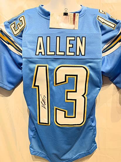 best loved 4475b ae77d Keenan Allen Los Angeles Chargers Signed Autograph Powder ...