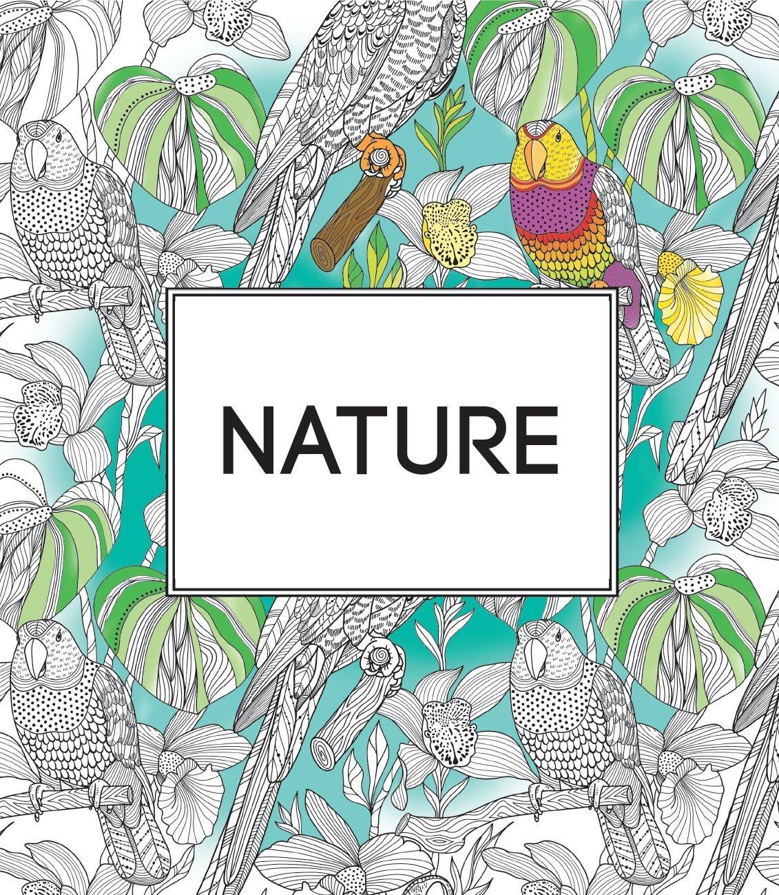INTERHOME Libro para Colorear Anti-Stress