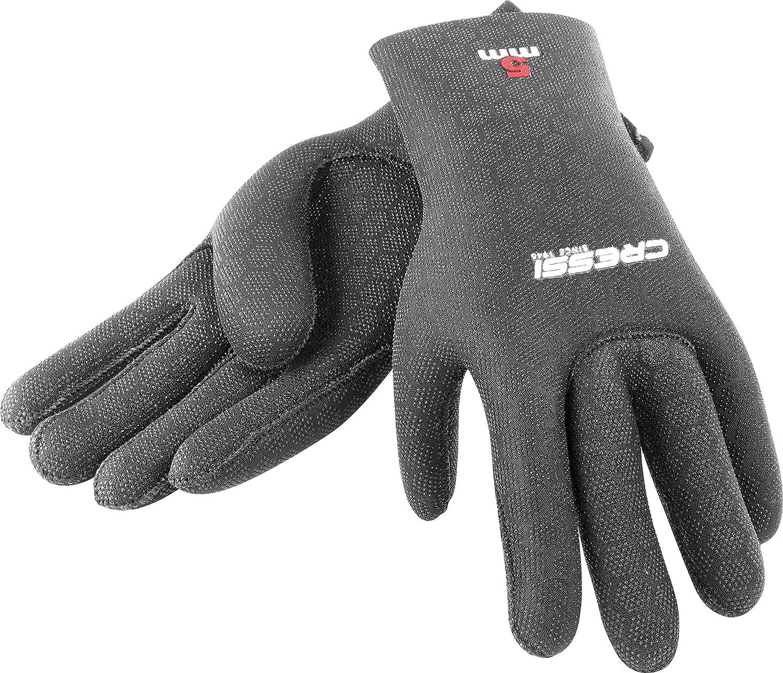 Cressi High Stretch 5 mm Neoprenanzug Gloves - Schwarz