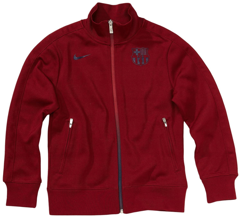 Nike F.C. Barcelona - Sudadera, color rojo, talla XL: Amazon.es: Deportes y aire libre