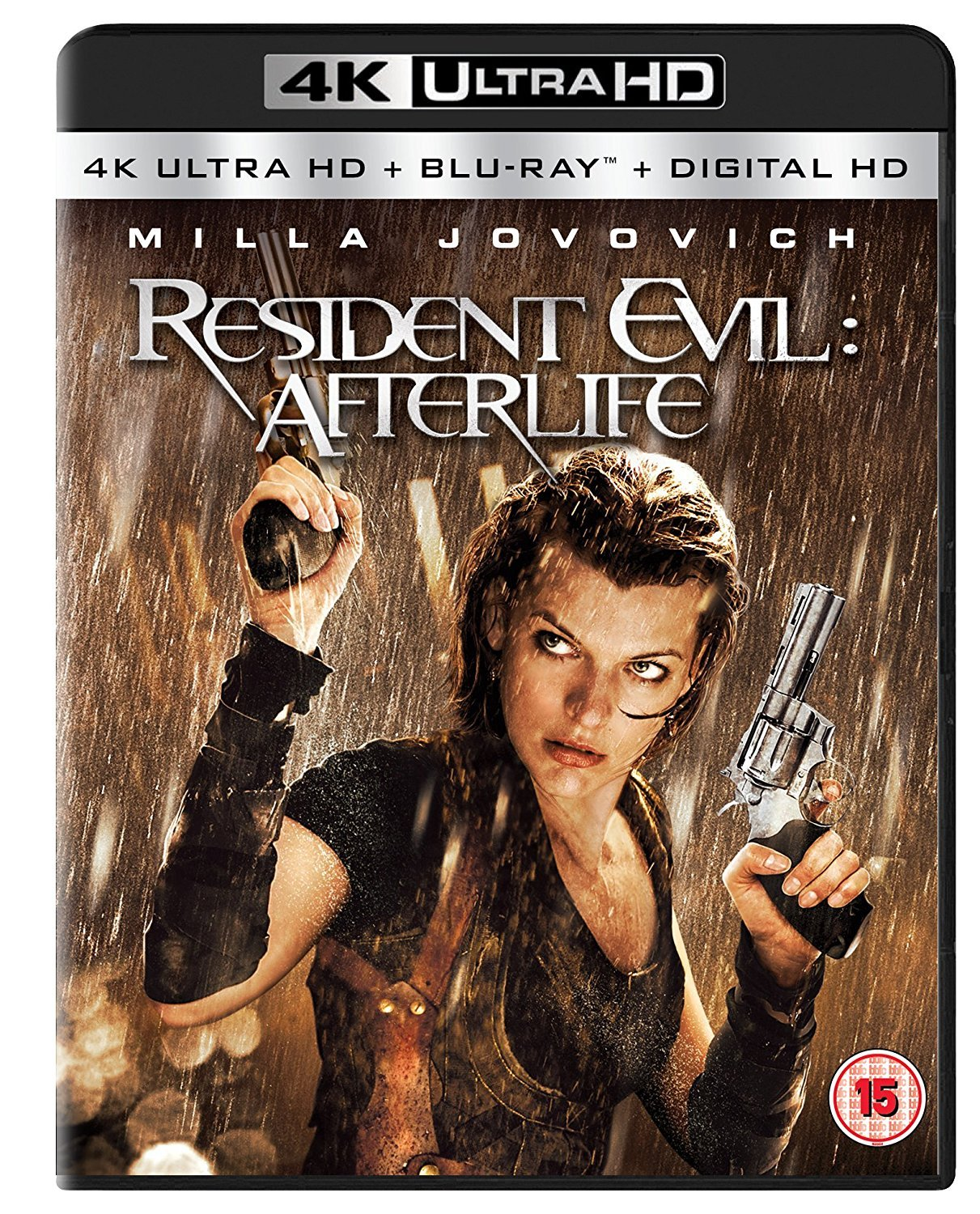 Amazon Com Resident Evil Afterlife 4k Ultra Hd Blu Ray Milla Jovovich Ali Larter Kim Coates Shawn Roberts Sergio Peris Mencheta Paul W S Anderson Movies Tv