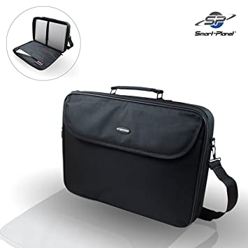 Smart Planet® alta calidad Laptop funda 17 pulgadas portátil bolsa de nailon – Bolso bandolera