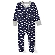 3df4269cc5 Moon and Back Baby Organic Footed Zip-Front Sleep and Play