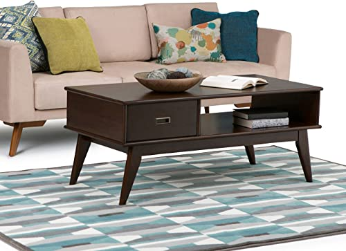 Signature Design by Ashley – Flynnter Lift-Top Cocktail Table w Storage, Medium Brown