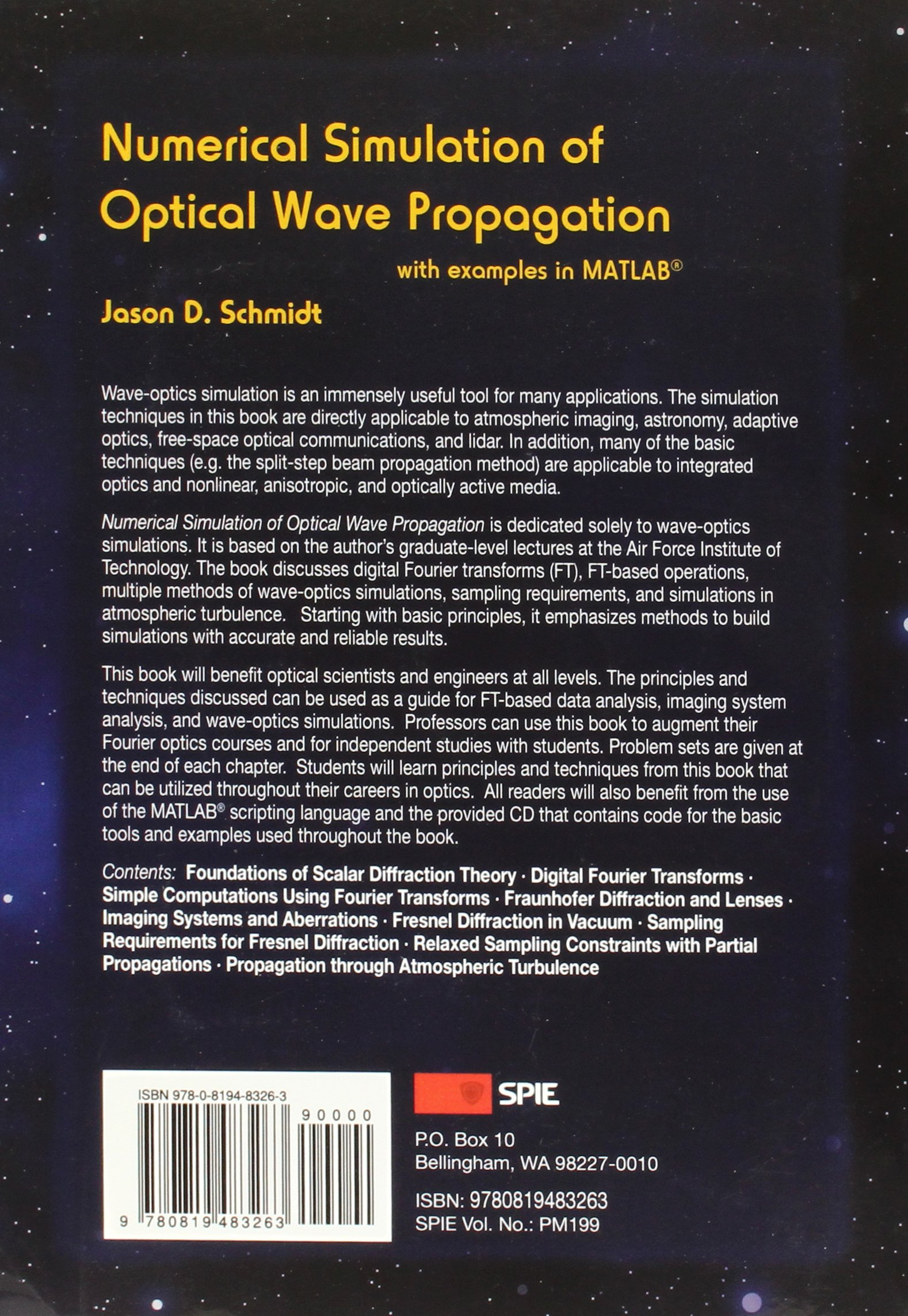 Buy Numerical Simulation of Optical Wave Propagation: With