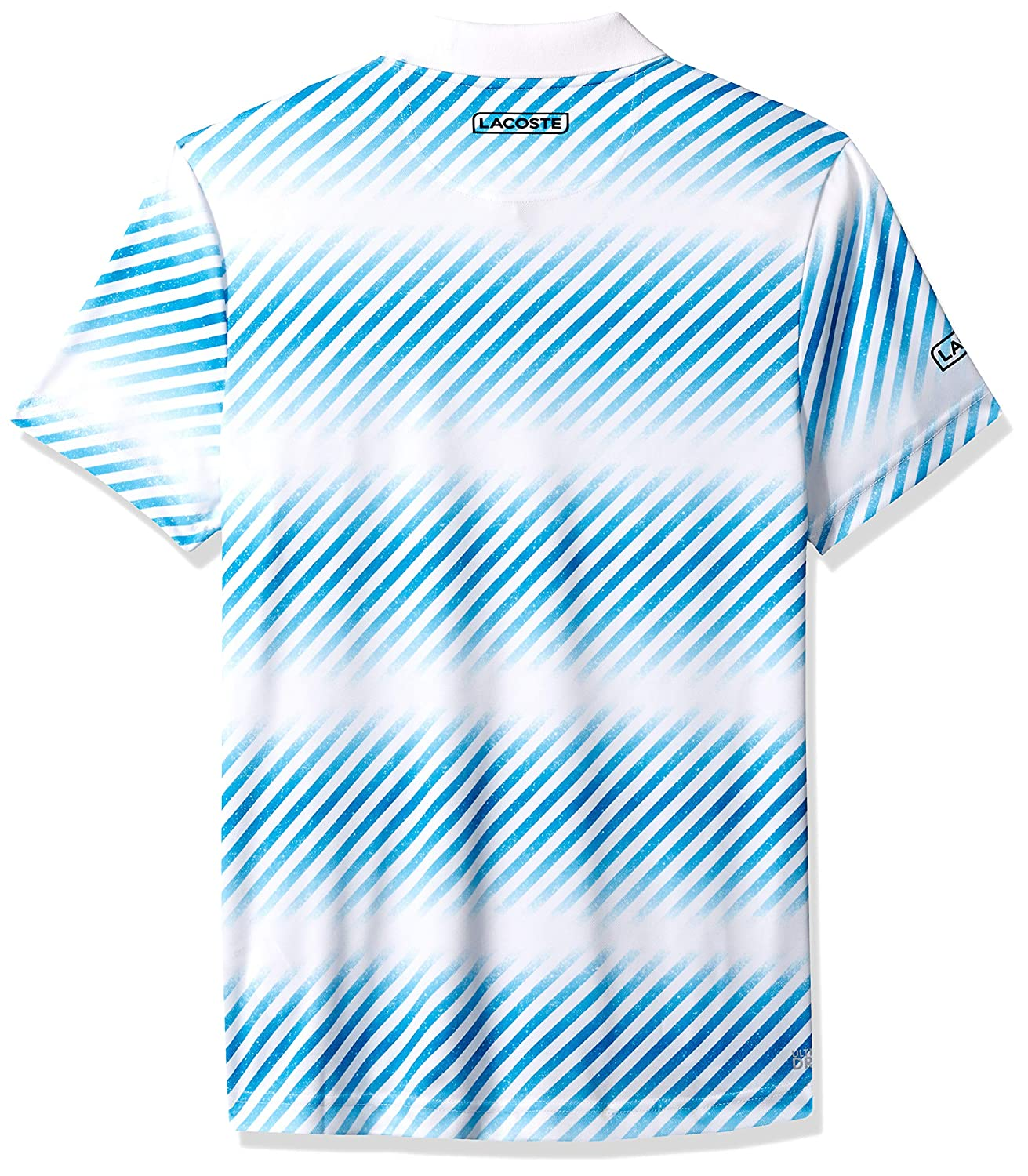 Lacoste Mens Sport Short Sleeve Ultra Dry Sublimated All Over Print Polo