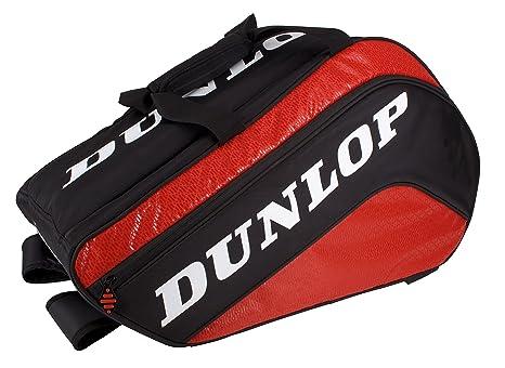 Dunlop Paletero Tour Mediano - Bolsa paletero, color negro/rojo