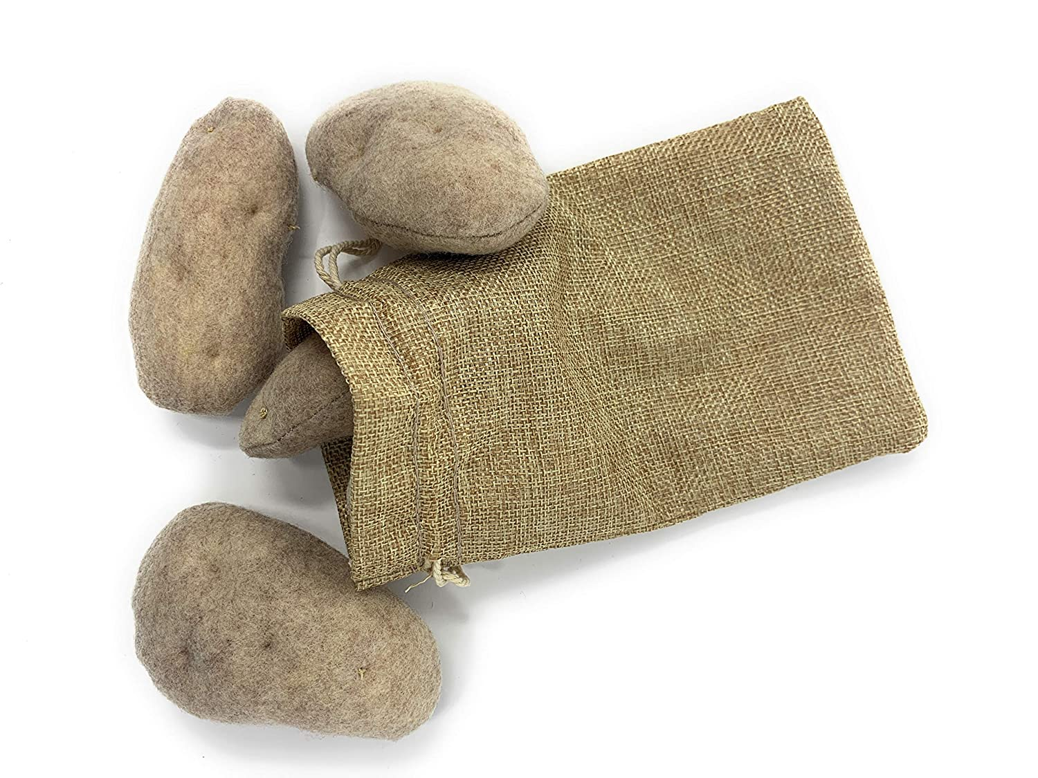 Sack of Felt Potatoes