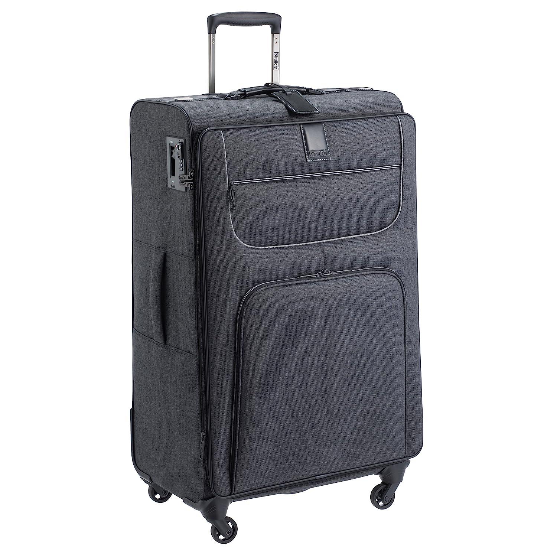 [ストラティック] スーツケース ソフト Go First Stop Later 大型 ドイツ製 保証付 109L 80 cm 3.49kg B07BFCC47G シティブラック
