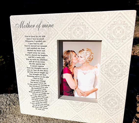 Amazoncom Mother Of The Bride Picture Frame Thank You Gift Wedding