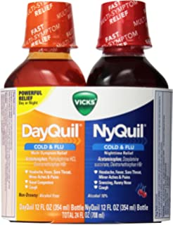 NyQuil™/DayQuil™ Severe Cold & Flu Relief Liquid Co-Pack