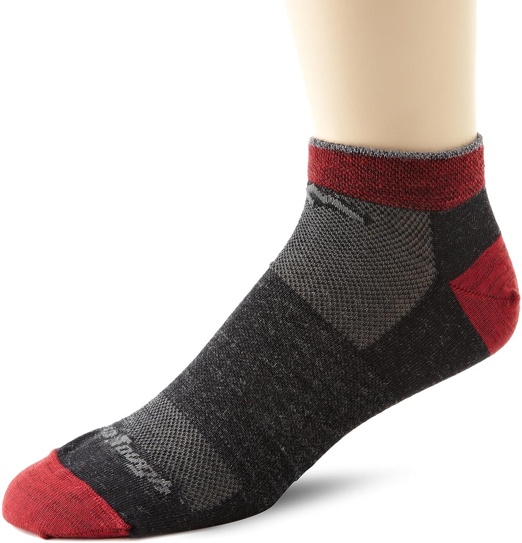 Darn Tough 1437 Men's Merino Wool No Show Light Socks, , Darn Tough Vermont