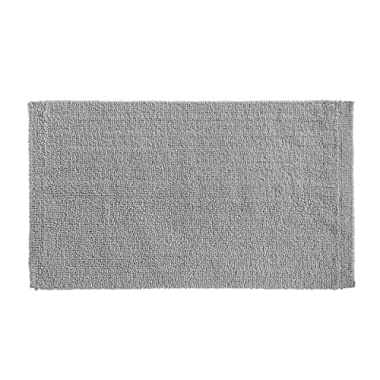 AmazonBasics Everyday Cotton Bath Rug, 20  x 34 , Powder Grey