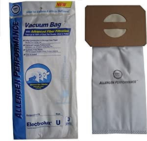 DVC 405170 Electrolux Upright Discovery Ii Synthetic Bag Allergen Performance (3 Pack)