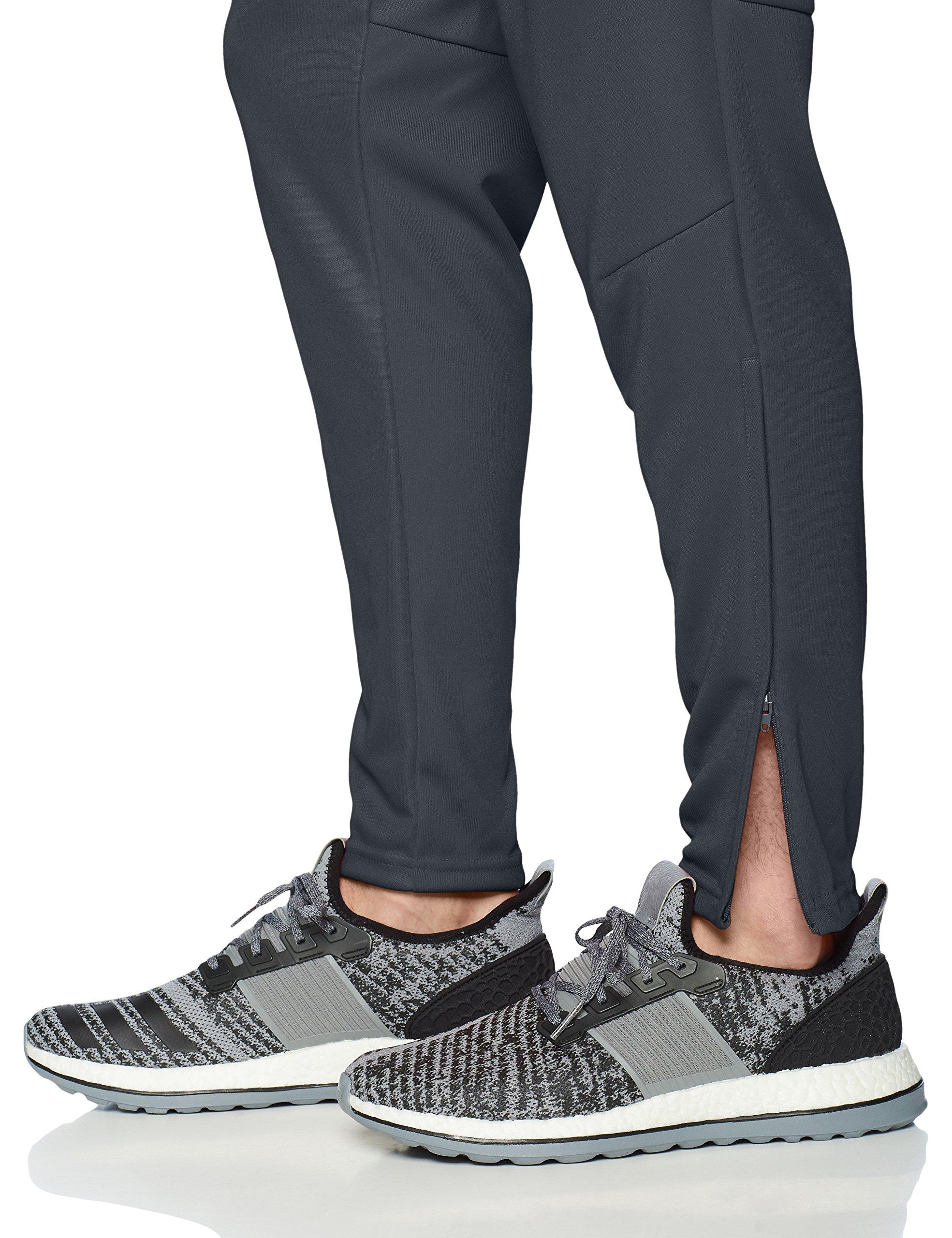 adidas Men's Soccer Tiro 17 Pants, Large, Dark GreyWhite
