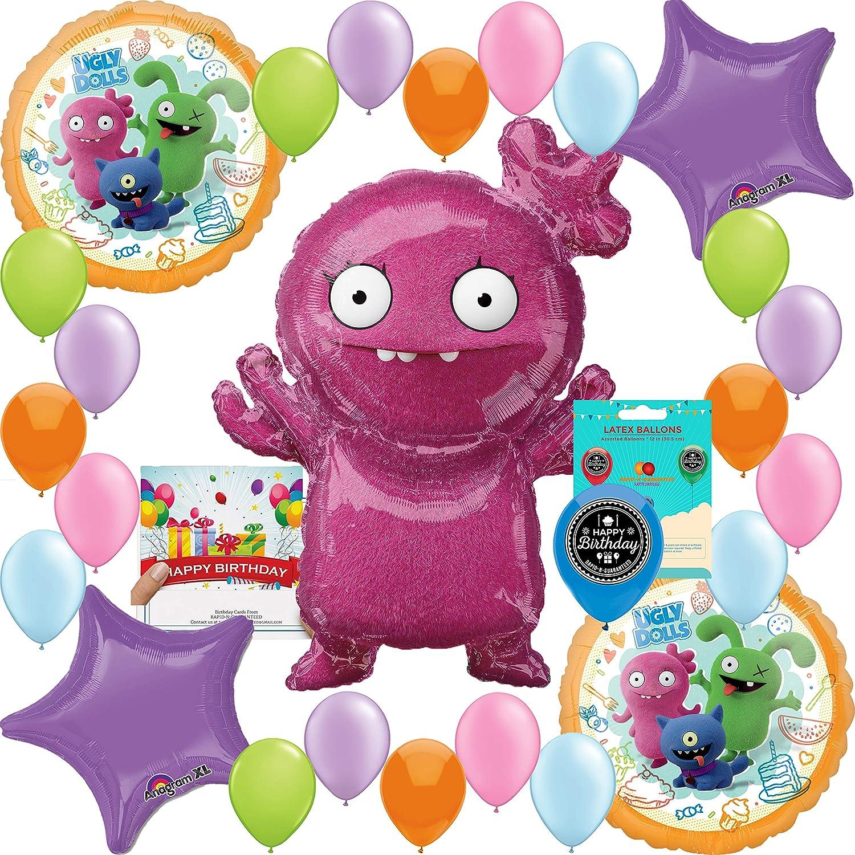 アグリー人形 誕生日パーティー用品 バルーンデコレーションバンドル   B07P14F81V