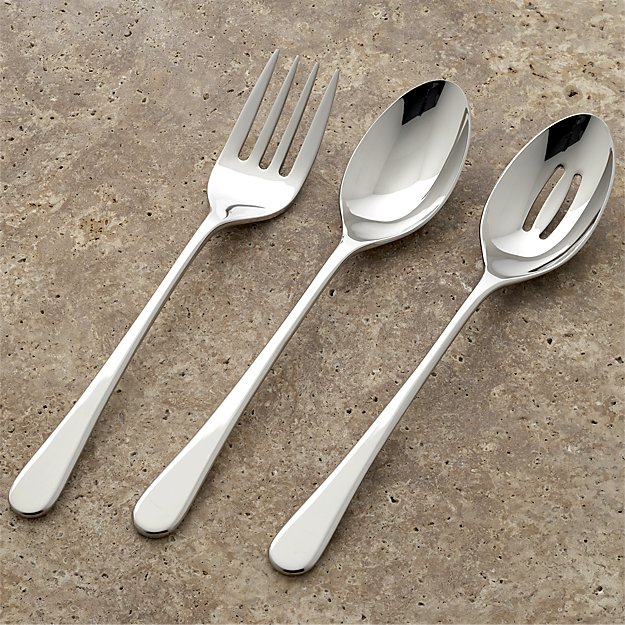 Iona 3-Piece Serving Set | Crate and Barrel