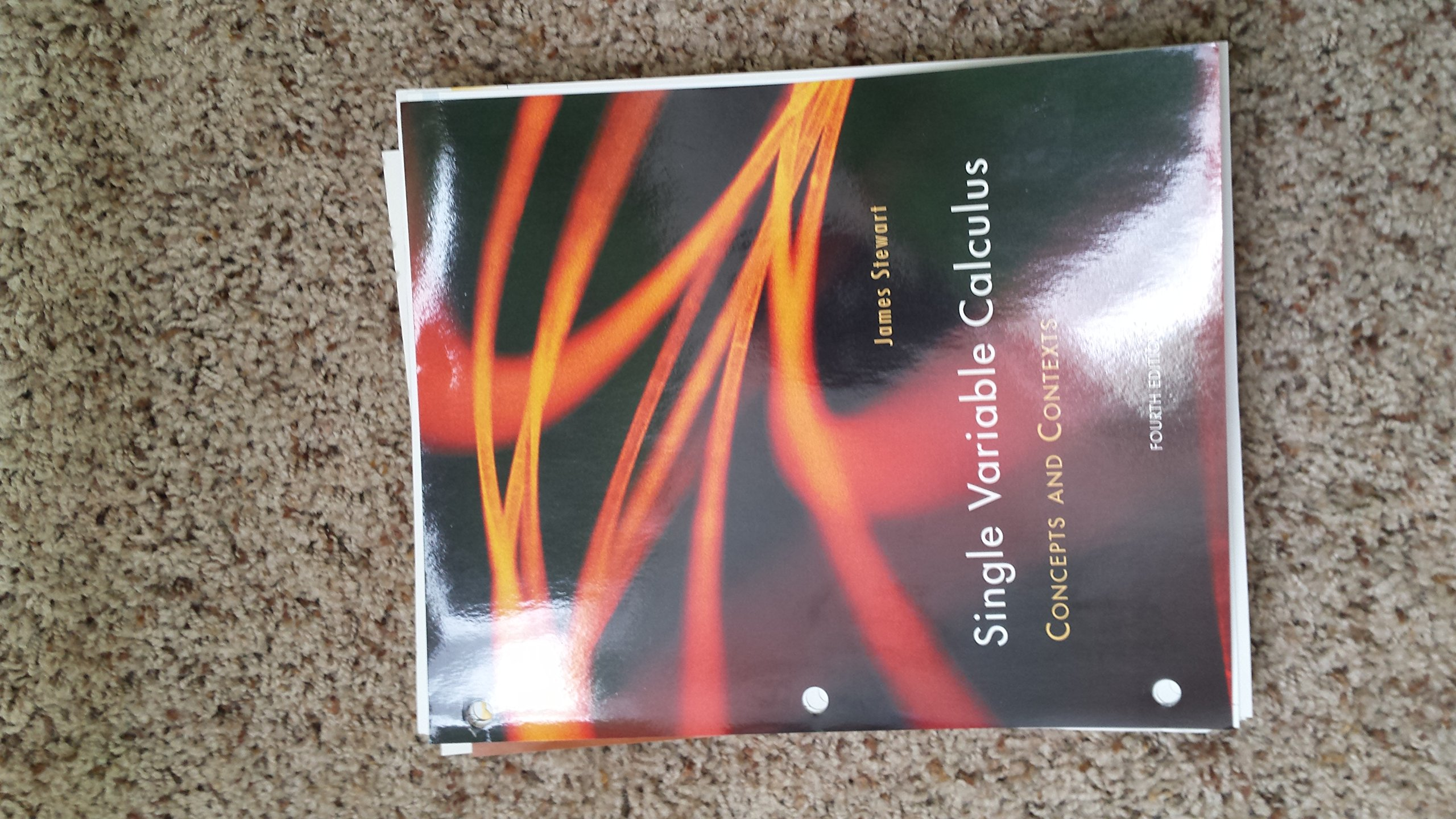 Single Variable Calculus Concepts and Contexts Fourth Edition: James  Stewart: 9781133444251: Amazon.com: Books