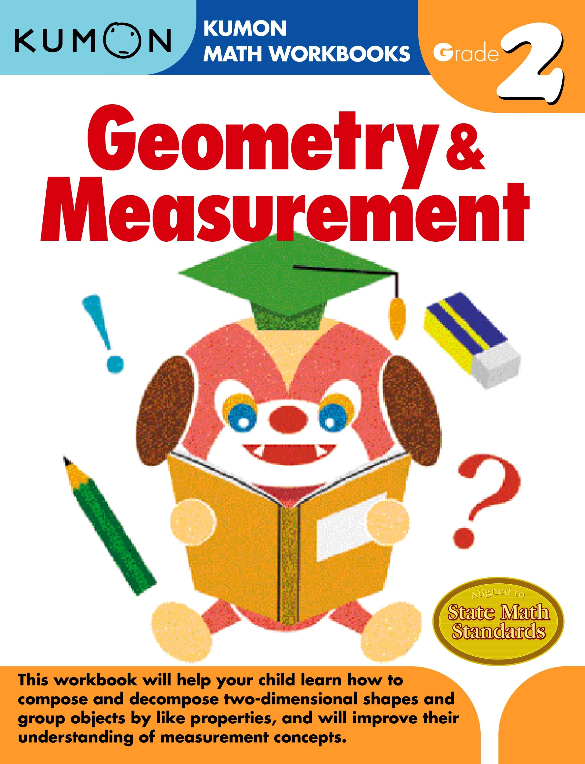 Geometry & Measurement Grade 2 (Kumon Math Workbooks): Kumon ...