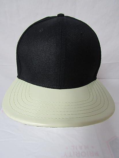 Amazon.com   Lids Men s Size OSFA Blank Nov Glow in the Dark Printed Visor  Snapback Baseball Cap Hat E1 85   Sports   Outdoors fa64ec21c97