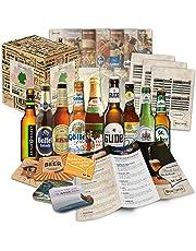 Boxiland - Pack de 9 bières d'Allemagne - Livré dans une boîte cadeau - 9 x 0,33 L