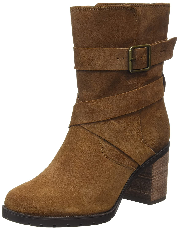 84a5290c8e111f Clarks Women s Malvet Doris Ankle Boots  Amazon.co.uk  Shoes   Bags