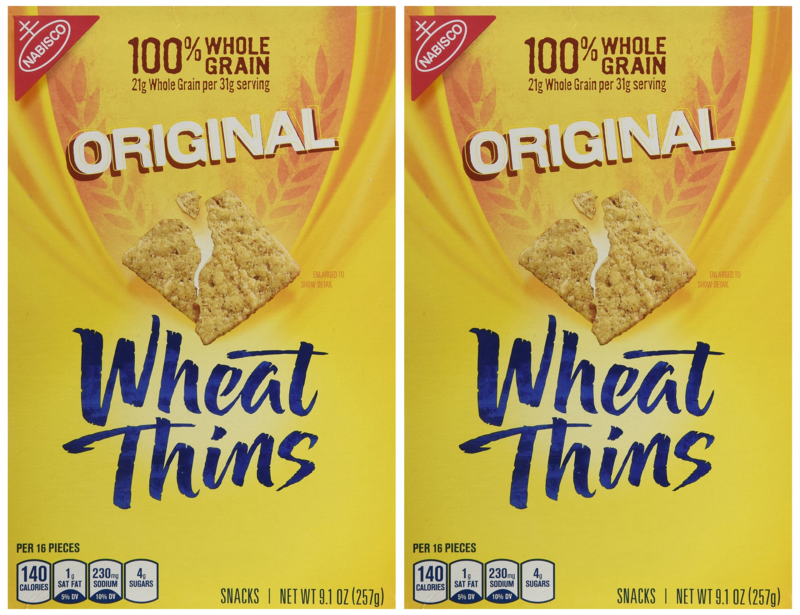 Wheat Thins Original 9.1 OZ (Pac of 2) by NABISCO