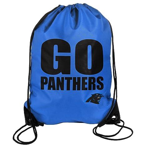 Amazon.com   Carolina Panthers 2013 Slogan Drawstring Backpack ... e8c2285c68