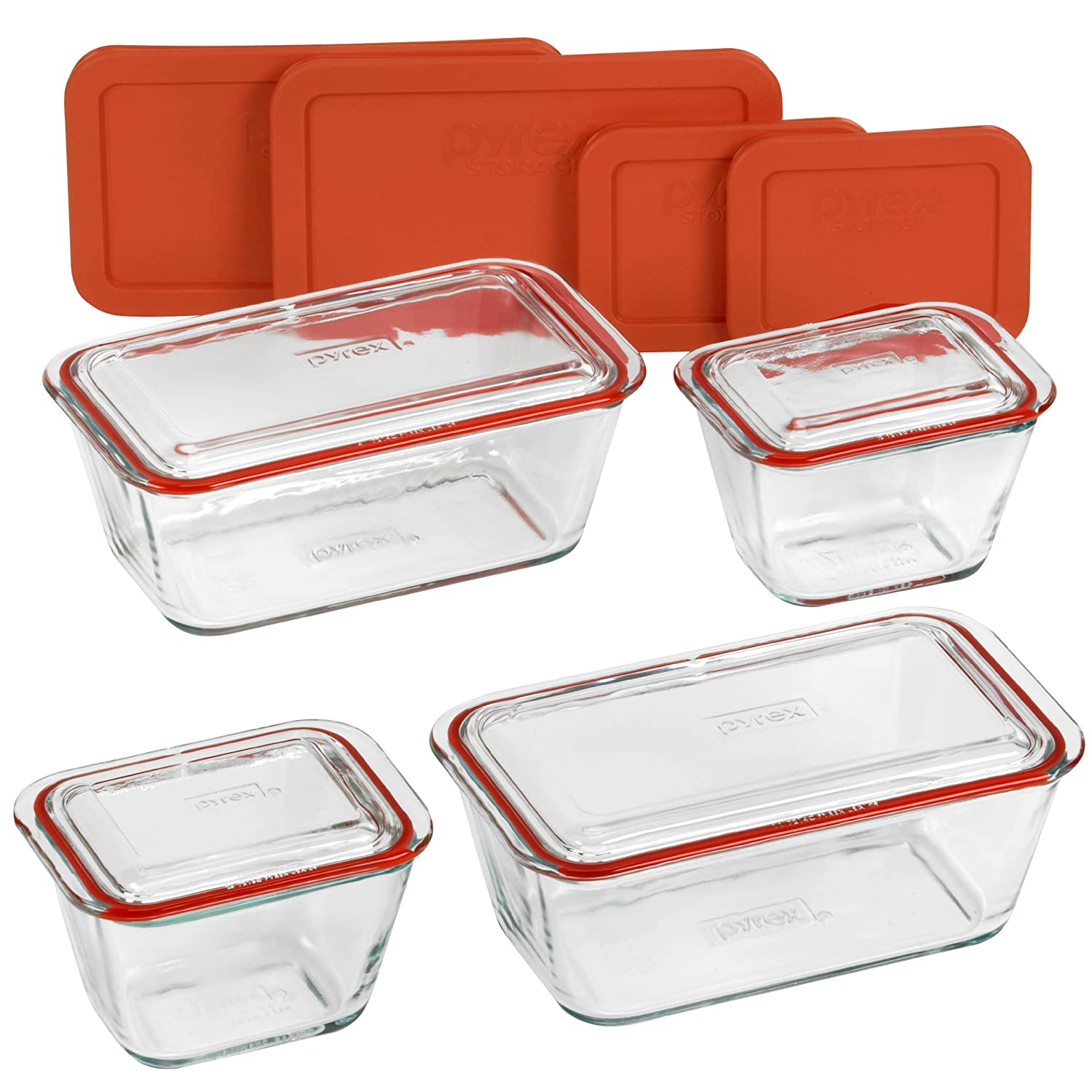 Amazon.com: Pyrex Glass Bake Serve, 12 Piece: Bake And Serve Sets: Kitchen  U0026 Dining
