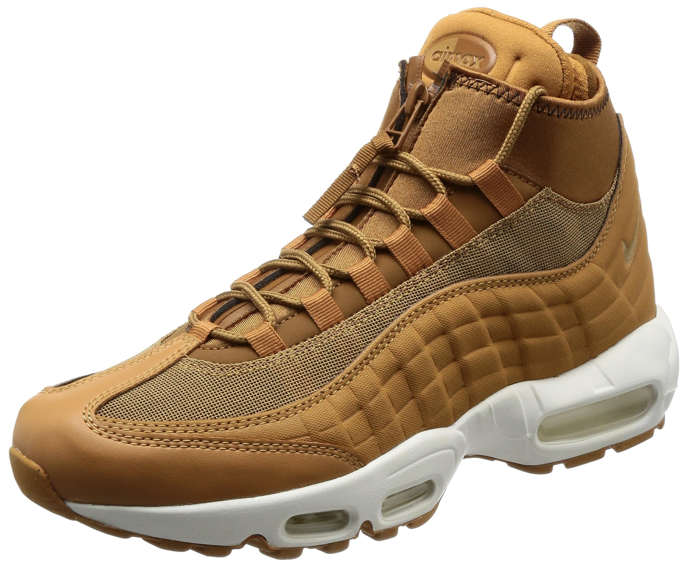 quality design 1715b 5e728 Galleon - Nike Air Max 95 Sneakerboot Men s Boot Flax Flax Ale Brown Sail  806809-201 (9.5 D(M) US)