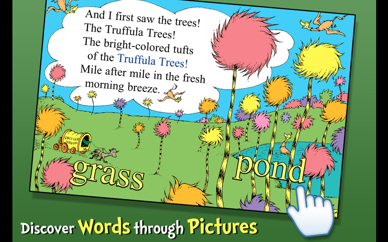 amazon com the lorax dr seuss appstore for android