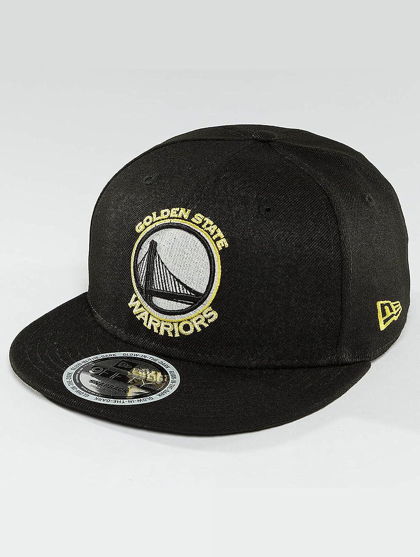 f5ae49cfc936d New Era 9Fifty Team GITD NBA Golden State Warriors Gorra New Era Negro S-M   Amazon.es  Ropa y accesorios