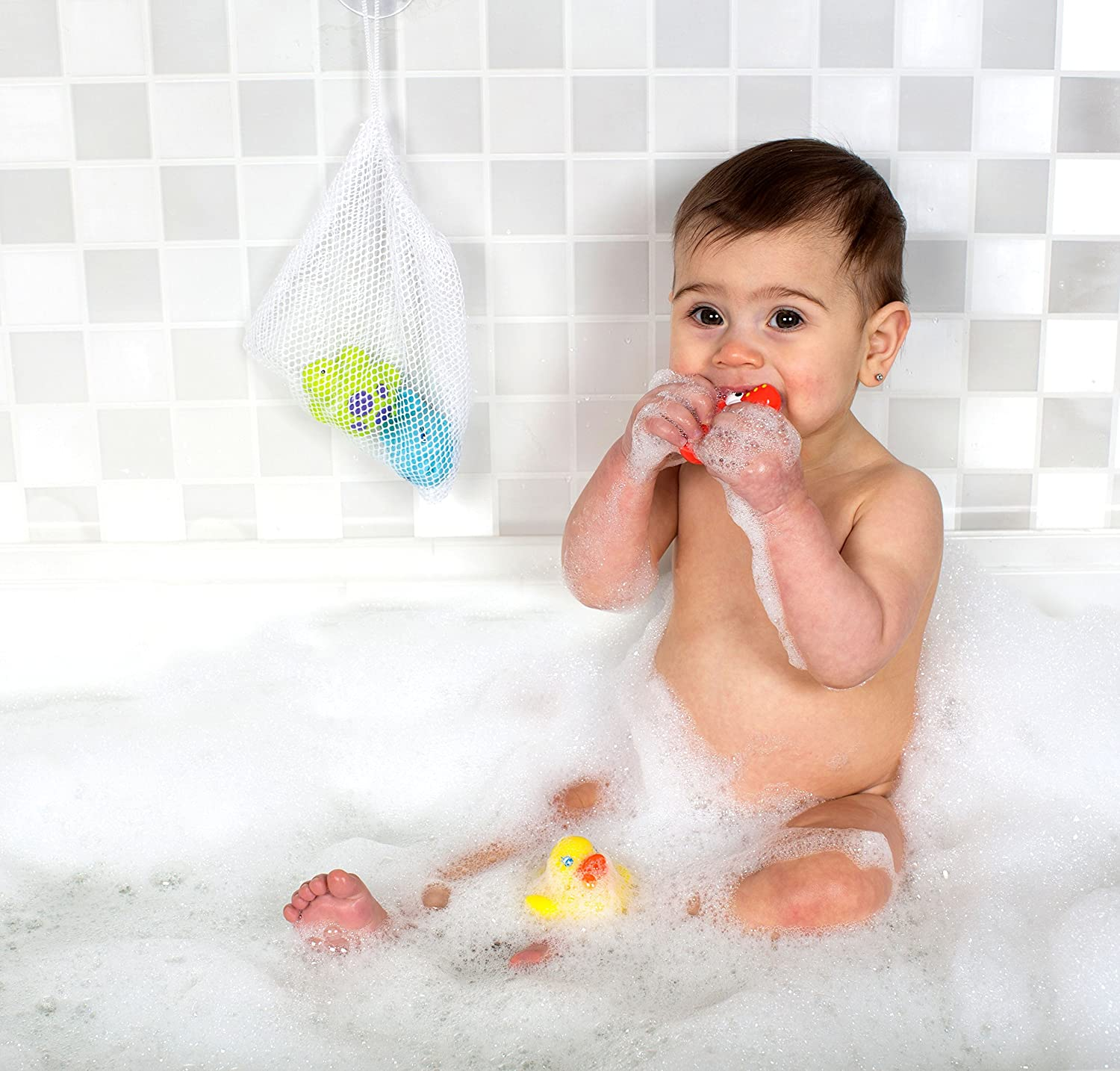 Playgro 0185452 Bath Squirtees and Storage Set for baby