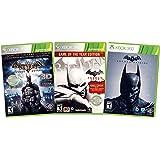 Batman Value Pack: (Arkham Asylum / Arkham City / Arkham Origins) (3-Pack) (Xbox 360)