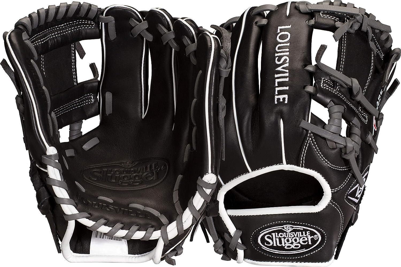最安値 Louisville Slugger New Pro Pro Flare PFRB18115AC Louisville Baseball Glove RHT Glove 29cm Black B07H43GS7N, ホウシュヤマムラ:d7615c9b --- a0267596.xsph.ru