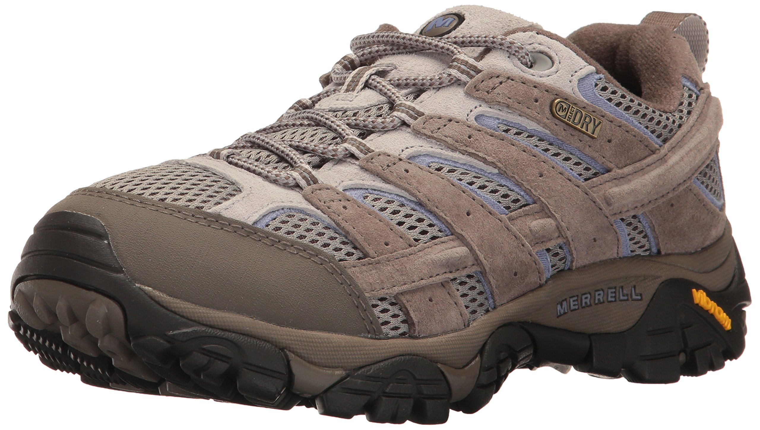 Merrell Women's Moab 2 Waterproof Hiking Shoe, Falcon, 7.5 M US