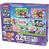Paw Patrol Girls 12 Puzzle Pack (24 Pieces)