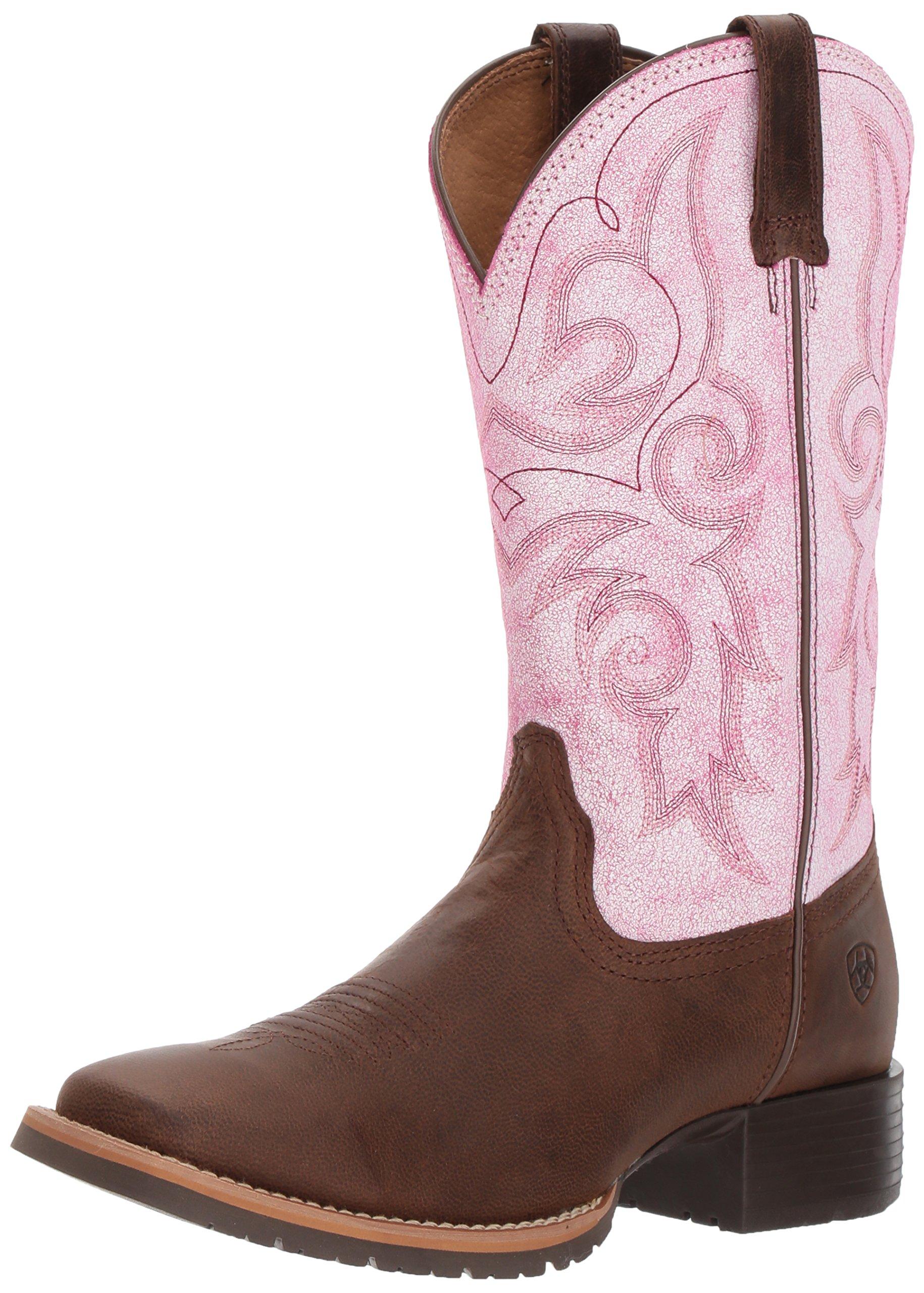 Ariat Women's Hybrid Rancher Work Boot, Barnwood, 10 B US
