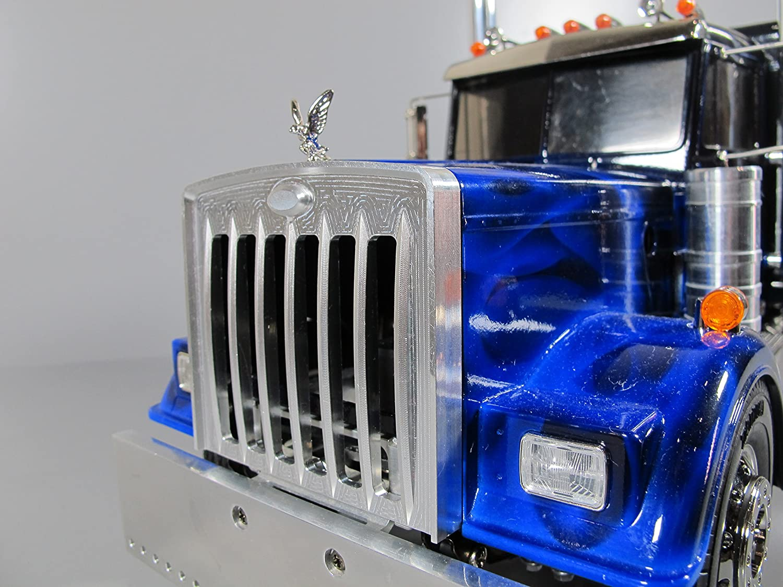 Aluminum Front Animal Bumper Protection Guard for Tamiya 1//14 Semi King Hauler